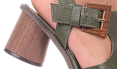 sandalia fivela madeira militar 3