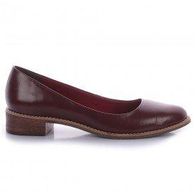 sapato casual burgundy