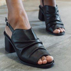 sandalia soft preto