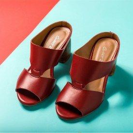 sandalia burgundy 1