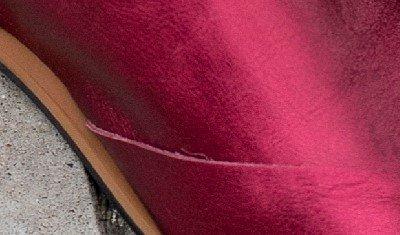 rasteira metalizado pink 4