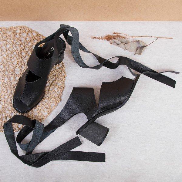 sandalia amarracao preto 3