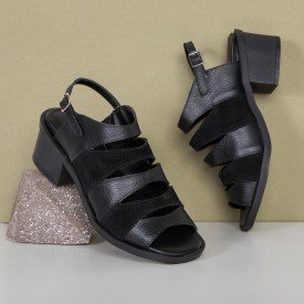 sandalia tiras preto 1