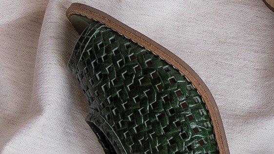 sandalia tresse militar