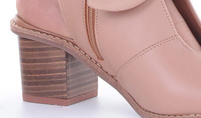 sandalia laco nude