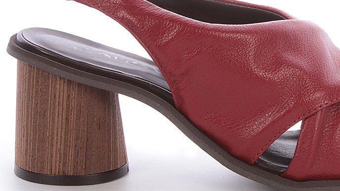 sandalia elisa burgundy 2