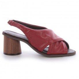 sandalia elisa burgundy