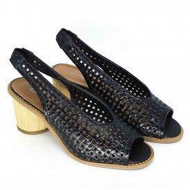 sandalia tresse preto 1