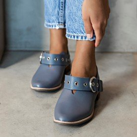 sapato emma azul