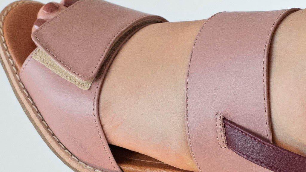 sandalia velcro rose 3