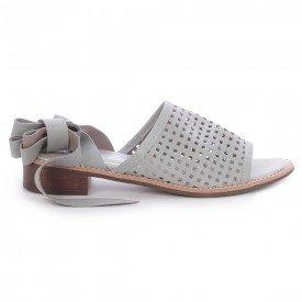 sandalia quadriculada cinza 1