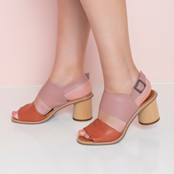 sandalia alana rosa