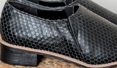 sapato escama preto 3