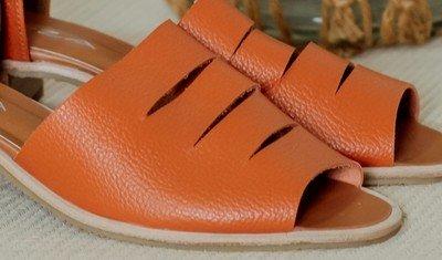 sandalia dafne laranja 1