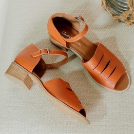 sandalia dafne laranja 2