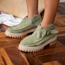 ankle boot layla verde